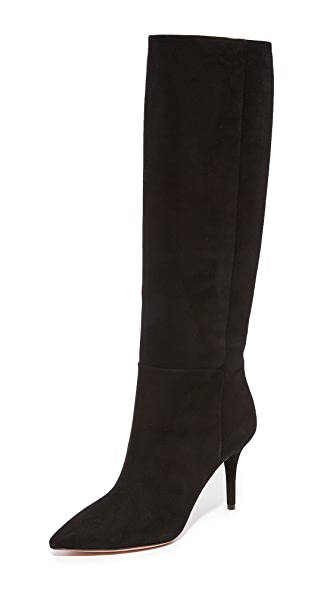 Aquazzura Quinn 85 Boots In Black