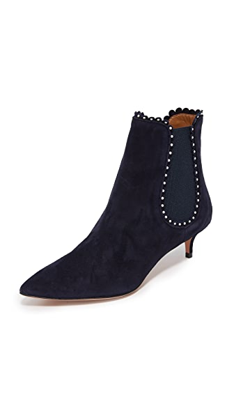 Aquazzura Jicky 45 Booties - Ink