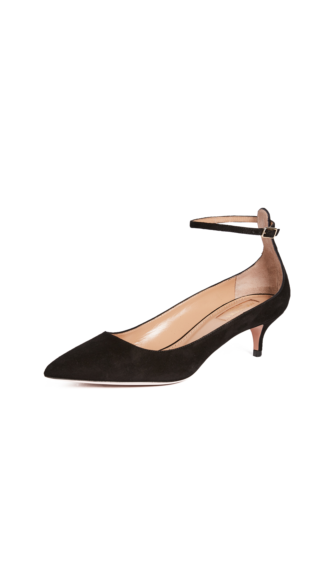 Aquazzura Kisha 45 Pumps - Black