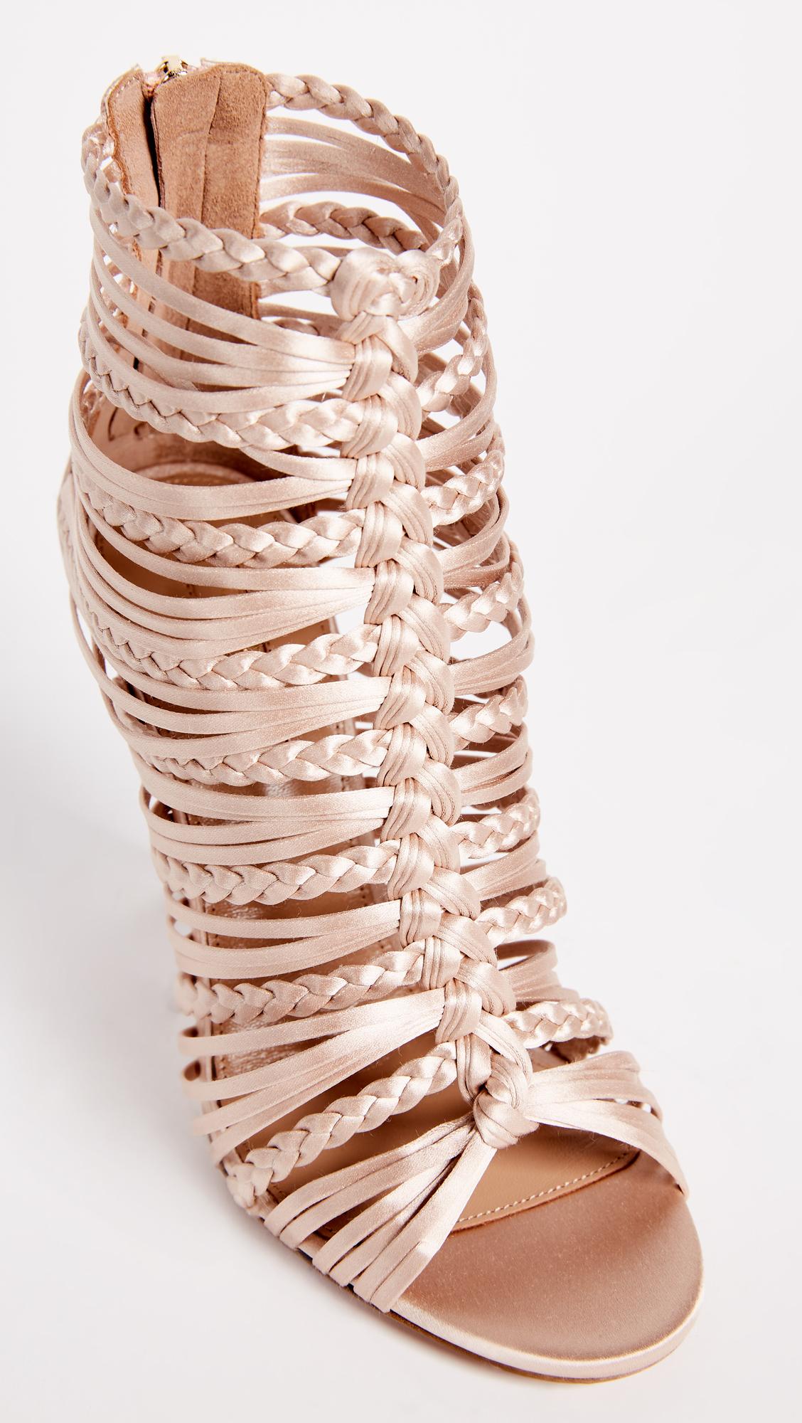 1673f319d83 Aquazzura Goddess 105 Sandals