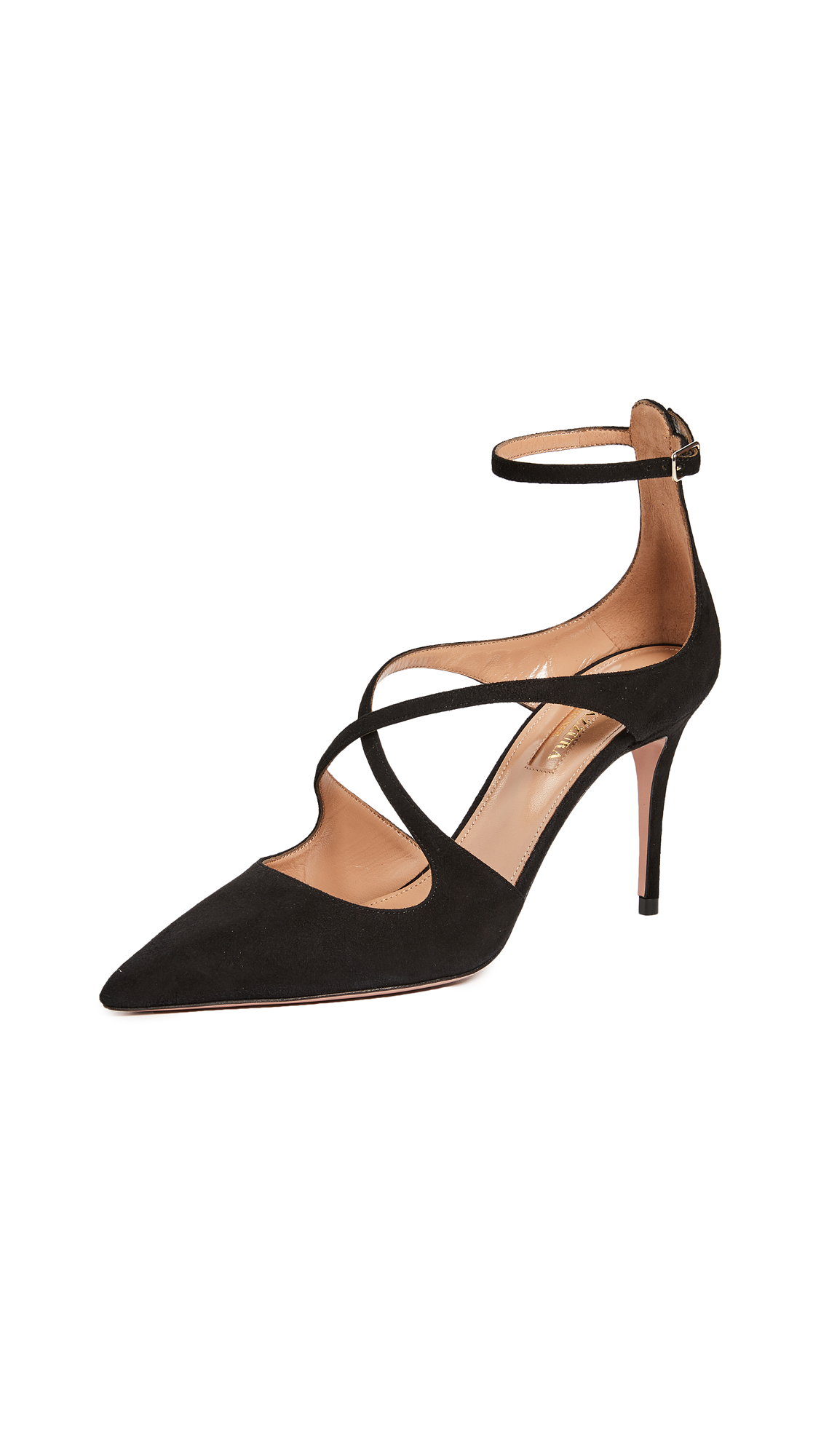 Aquazzura Viviana 85mm Pumps - Black