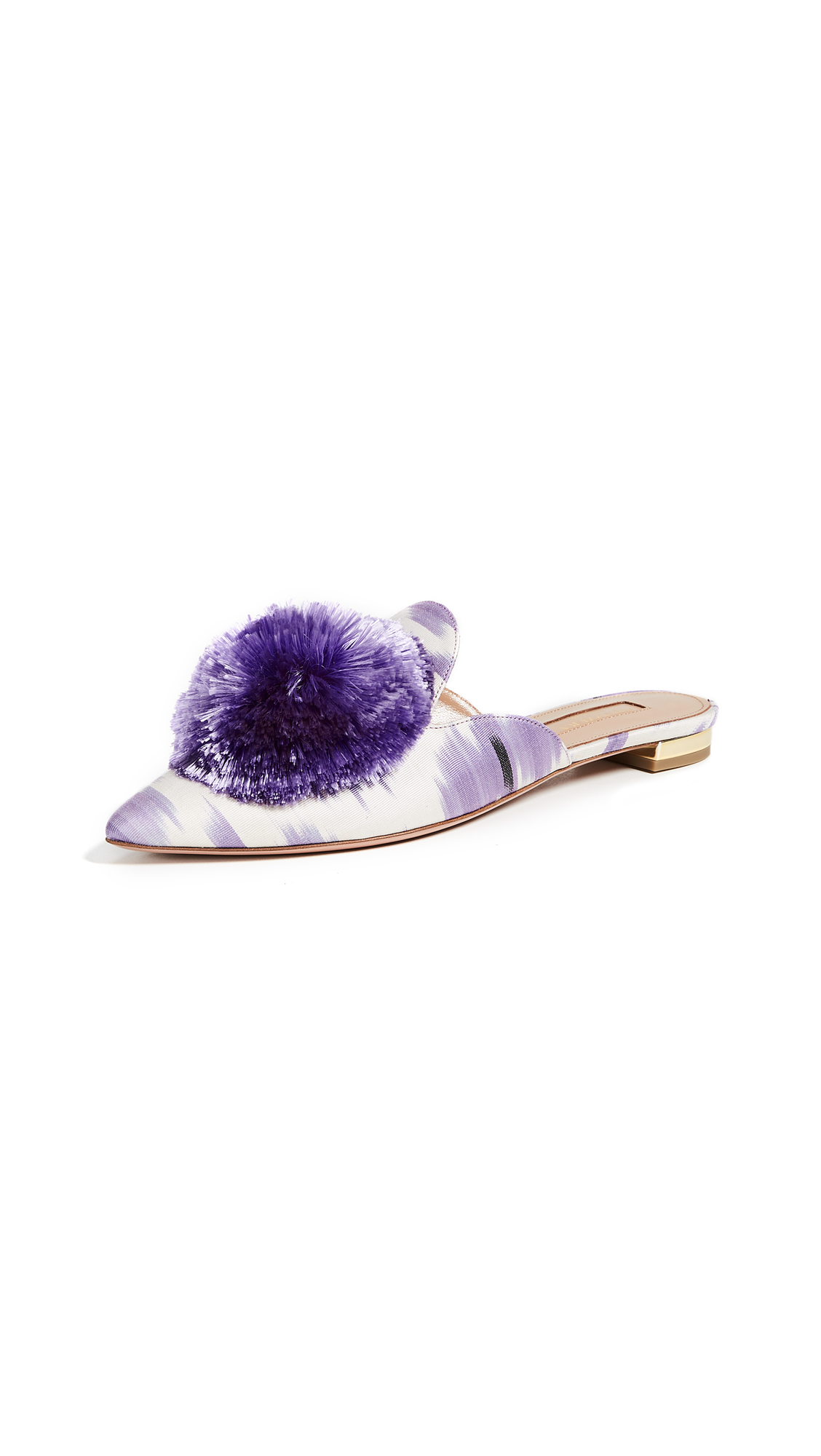 Aquazzura Powder Puff Flats - Amethyst