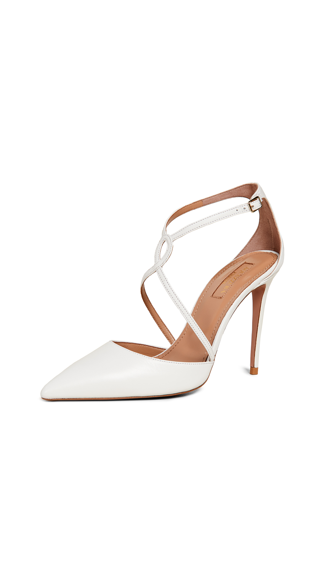 Aquazzura Charisma 105 Pumps - White