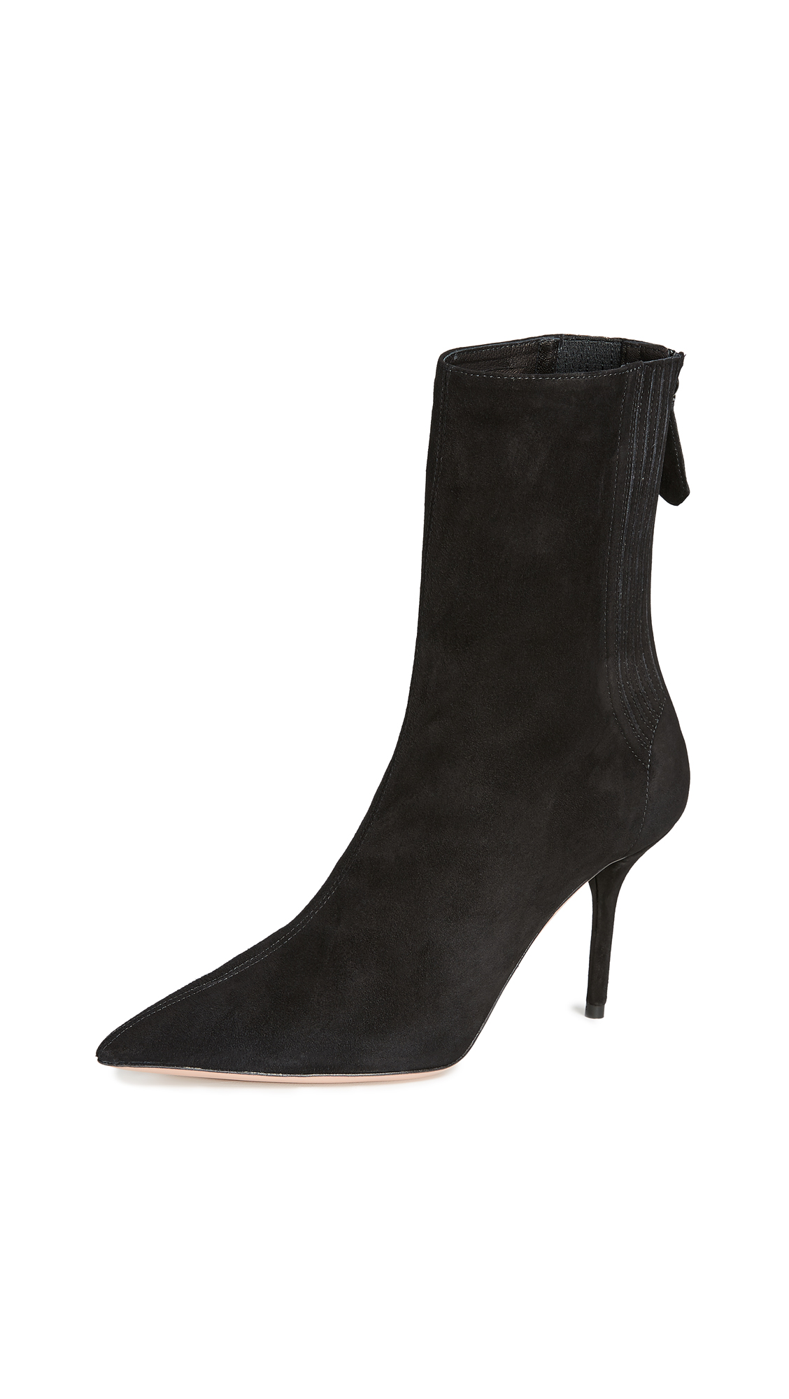 Aquazzura Saint Honore 85 Booties - Black
