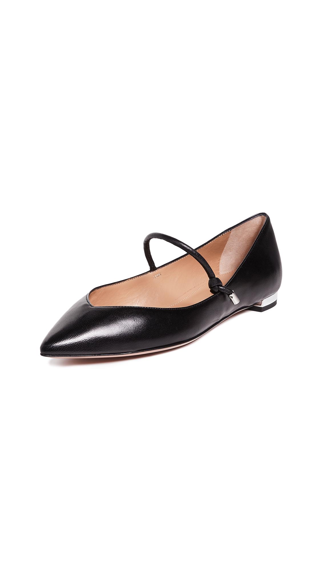 Aquazzura Stylist Ballet Flats - Black