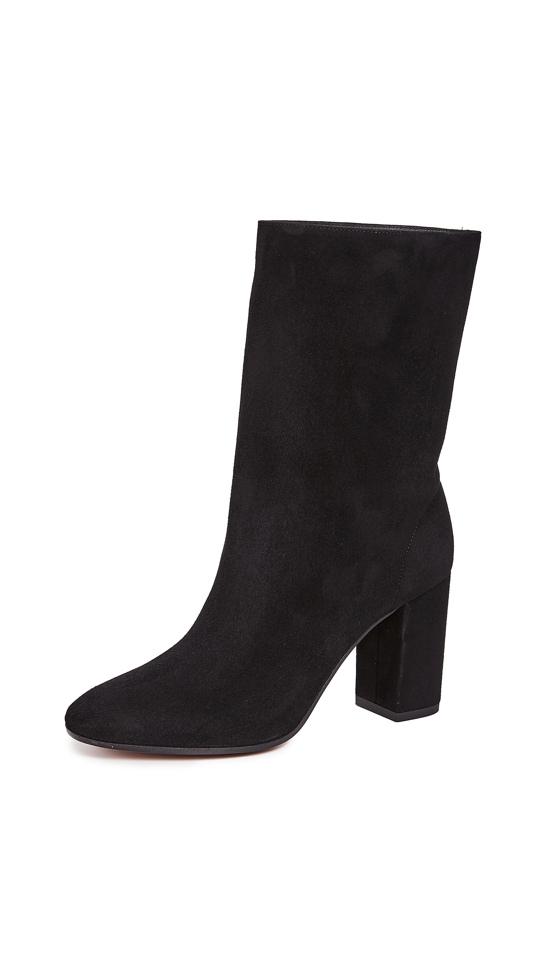 Aquazzura Boogie 85 Booties - Black
