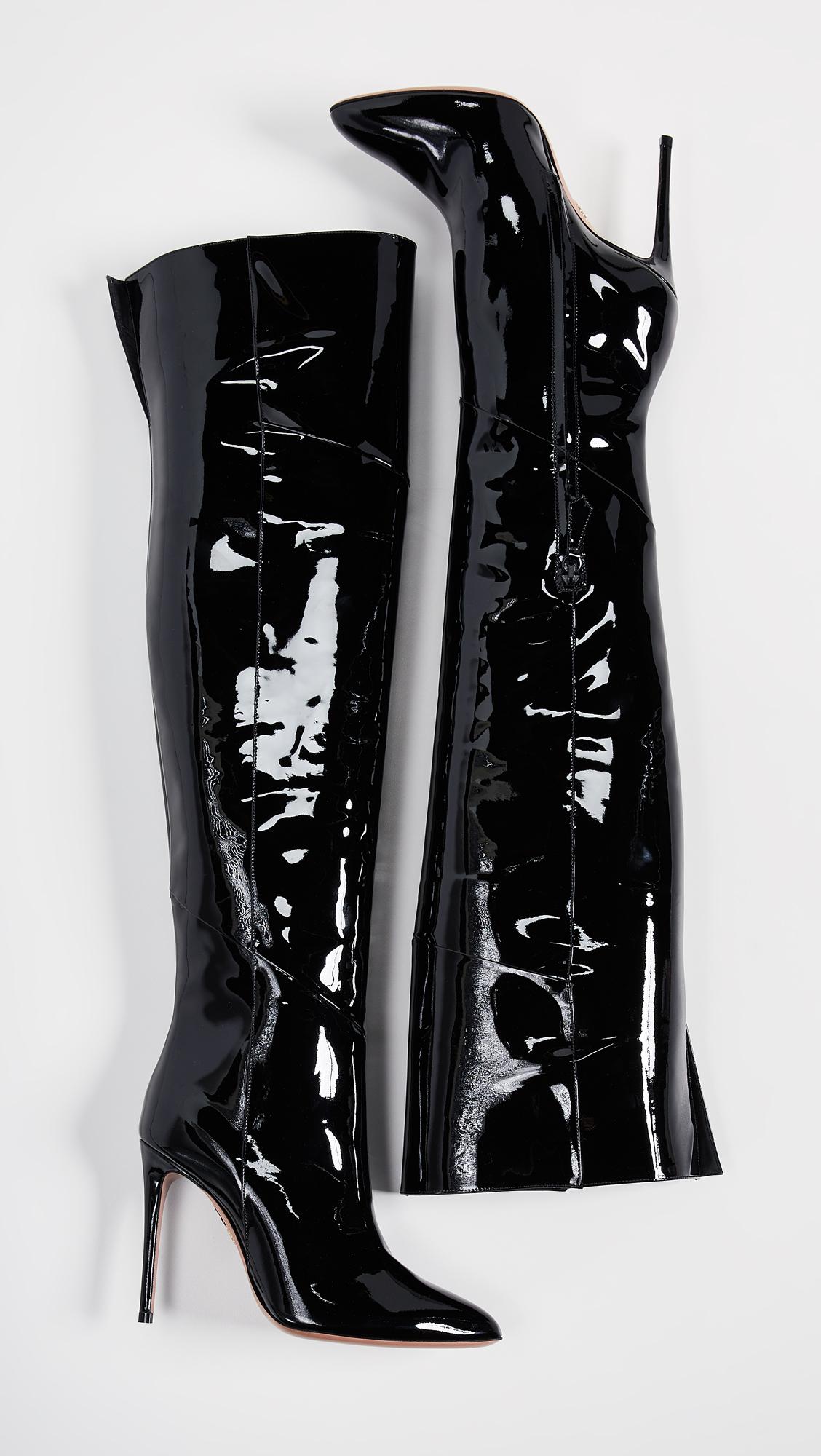 9e1f63f82c9 Aquazzura Alma Over the Knee Boots