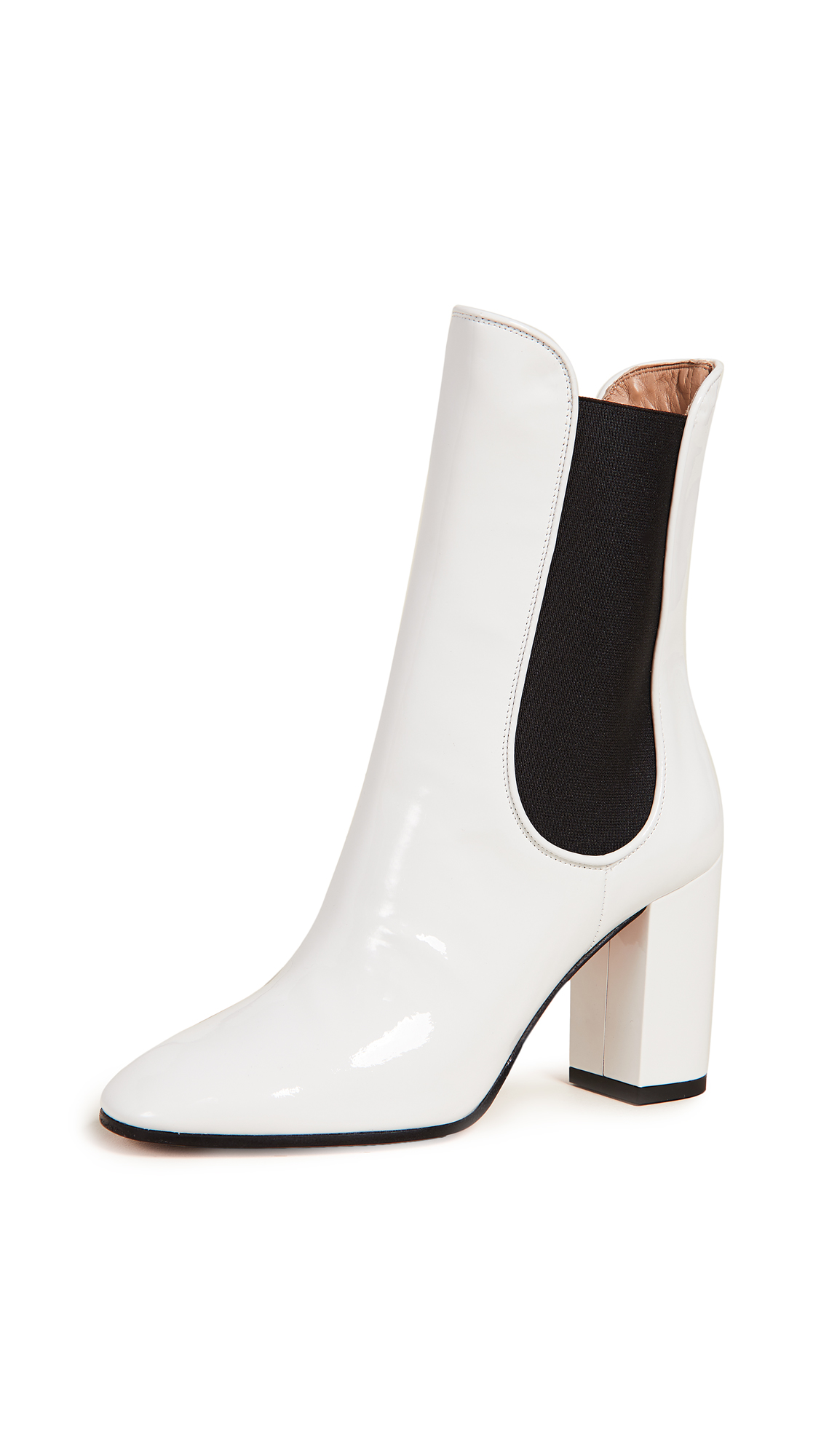 Aquazzura Kilian 85mm Booties - White