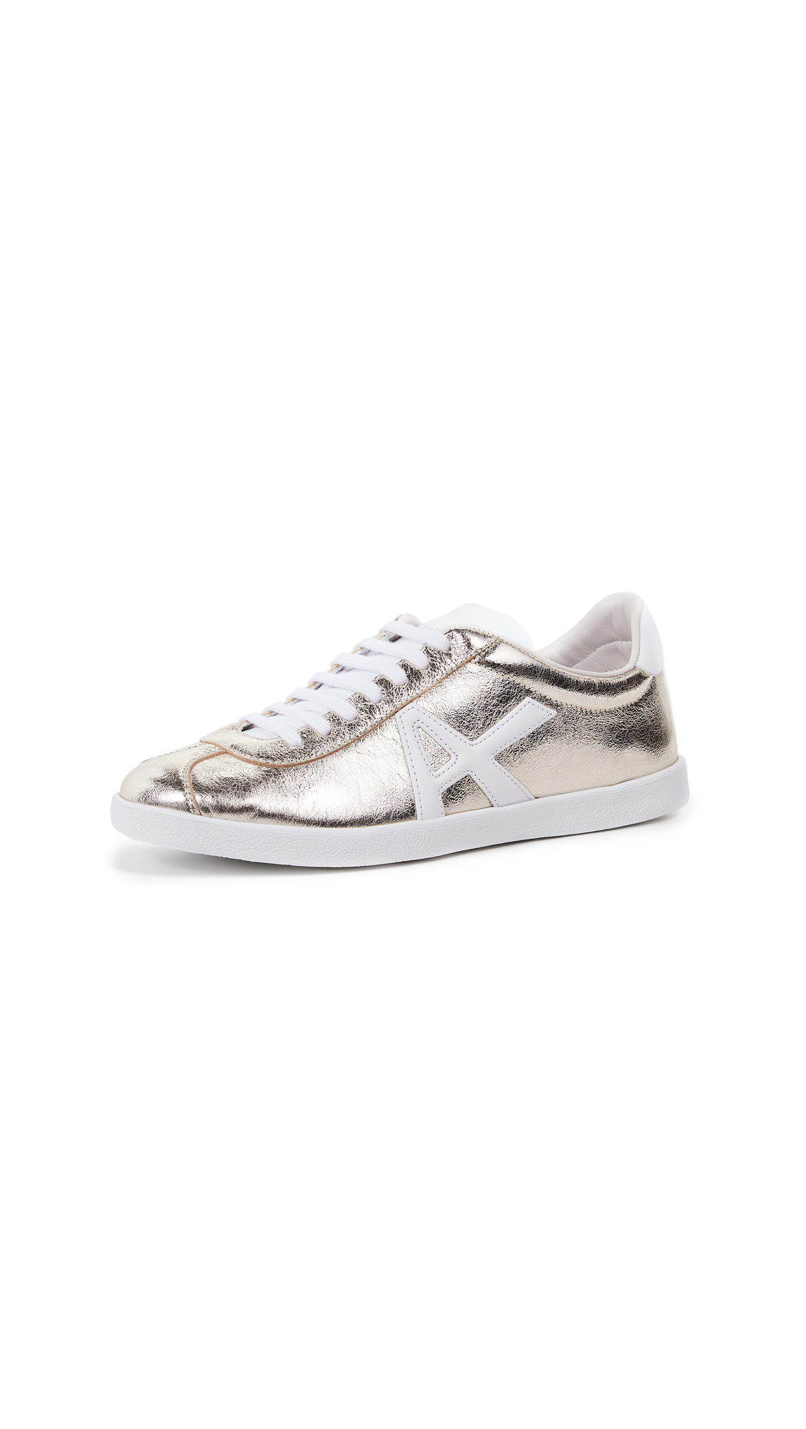 Aquazzura The A Sneakers - Platino/White