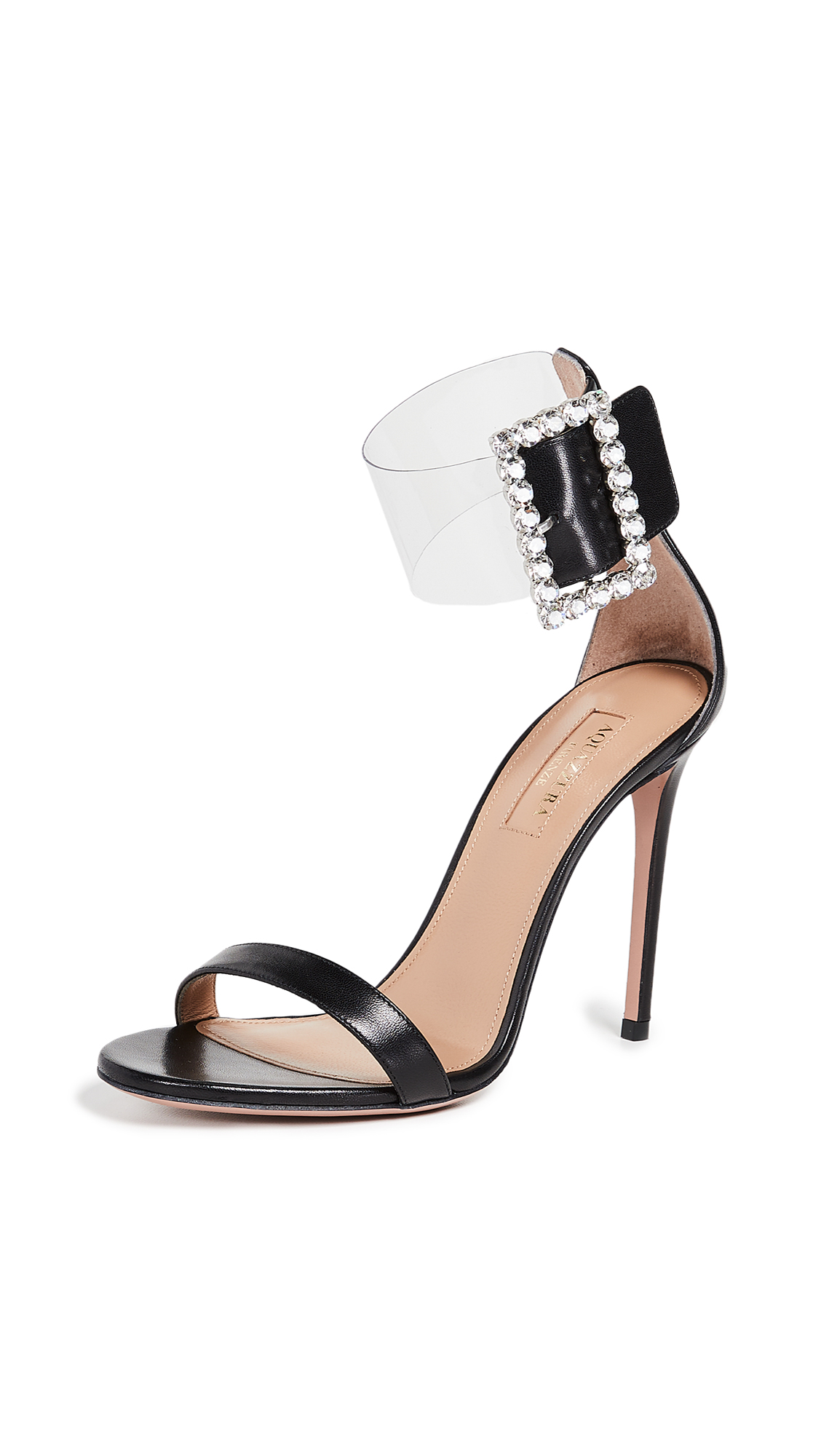 Aquazzura Casablanca Strass 105 Sandals