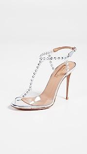 Aquazzura Shine 105mm Sandals
