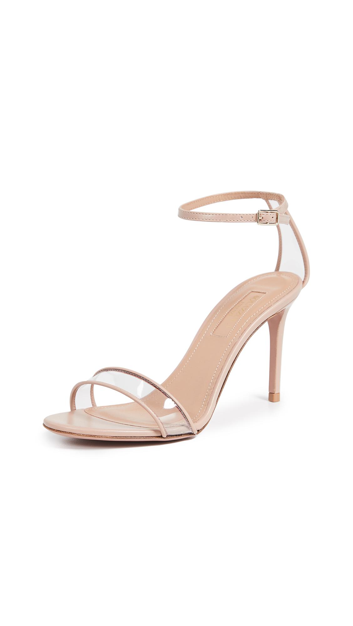 Aquazzura Minimalist 85 Sandals - Powder Pink
