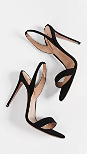 Aquazzura So Nude 105mm 凉鞋