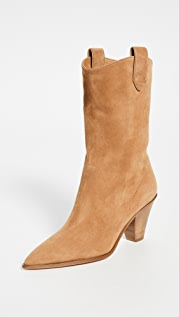 Aquazzura Boogie 70mm Cowboy Booties