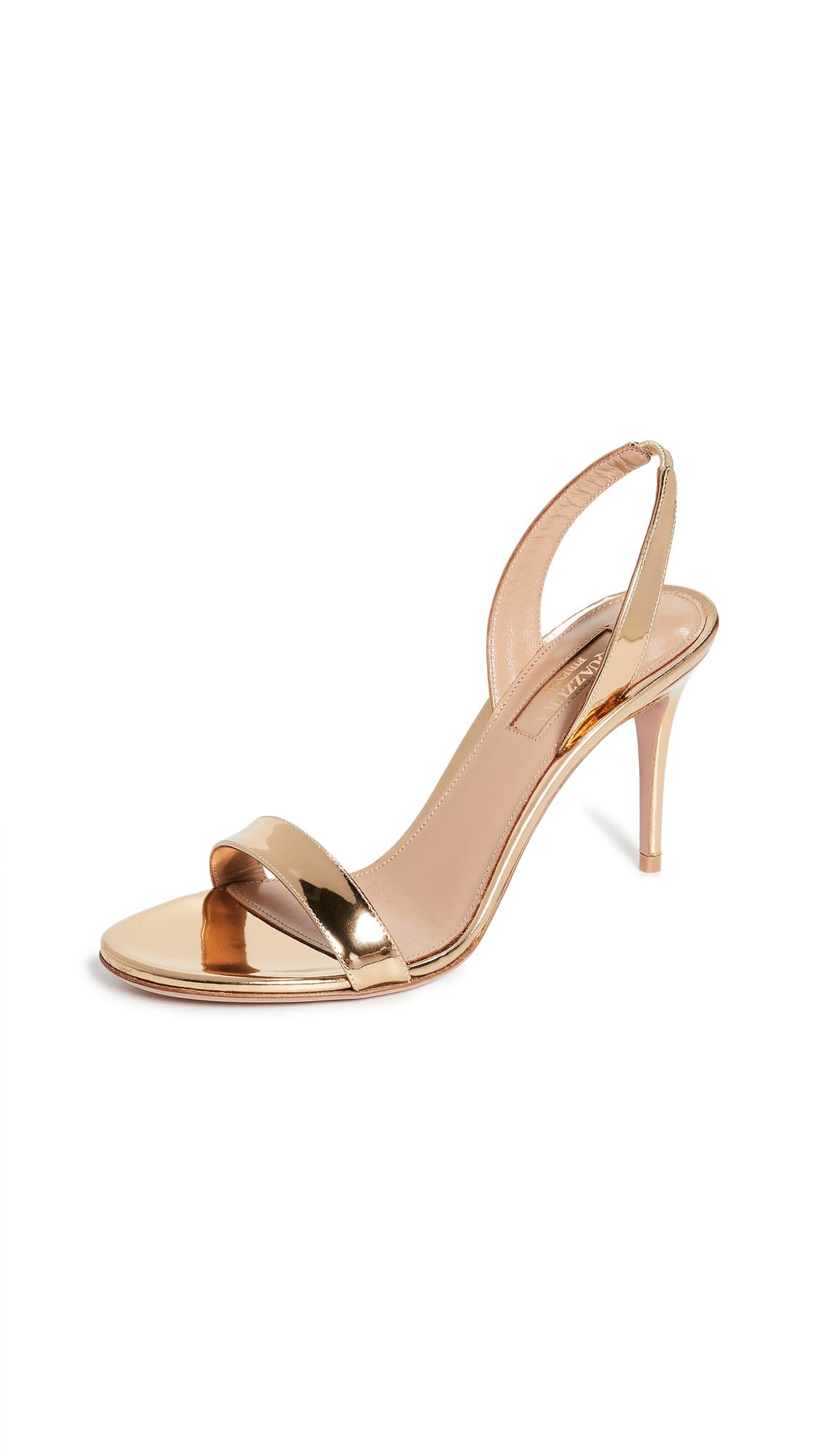 Buy Aquazzura So Nude 85mm Sandals online, shop Aquazzura