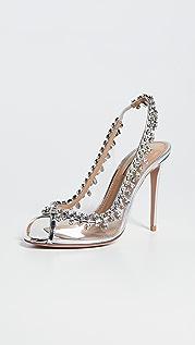 Aquazzura Temptation Crystal 105mm 凉鞋
