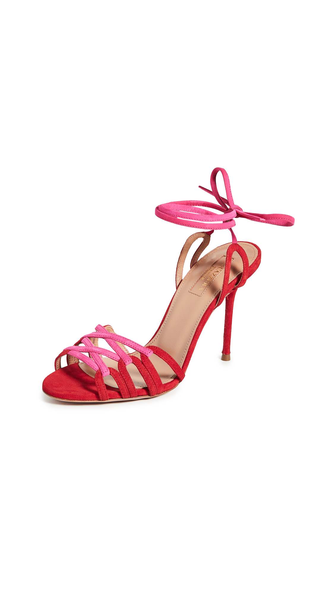 Buy Aquazzura Azur Sandals 95mm online, shop Aquazzura