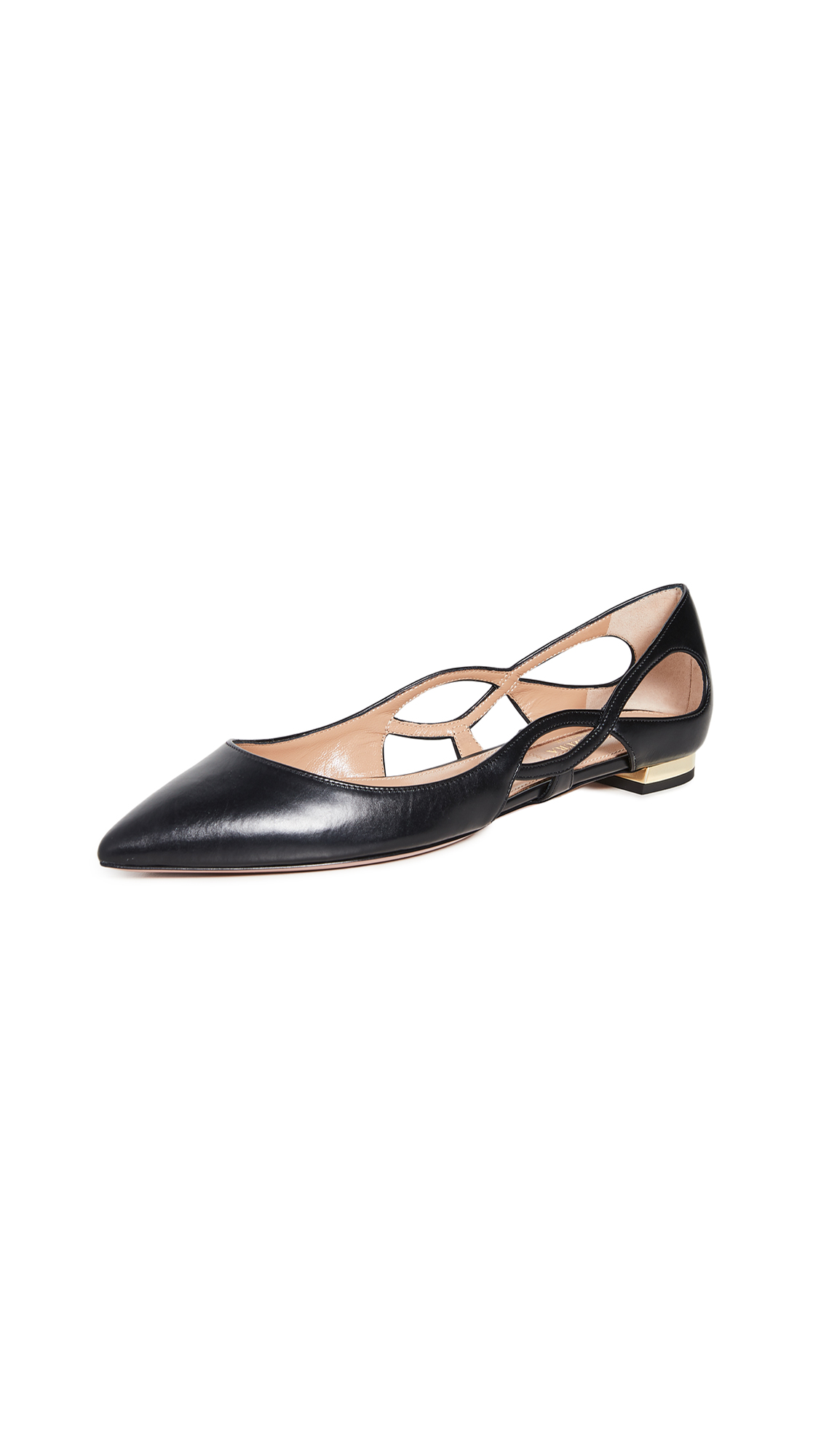 Buy Aquazzura Forever Ballet Flats online, shop Aquazzura