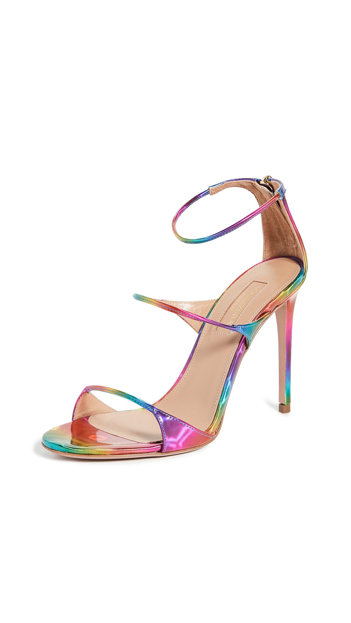 Buy Aquazzura online - photo of Aquazzura Minute Sandals 105mm