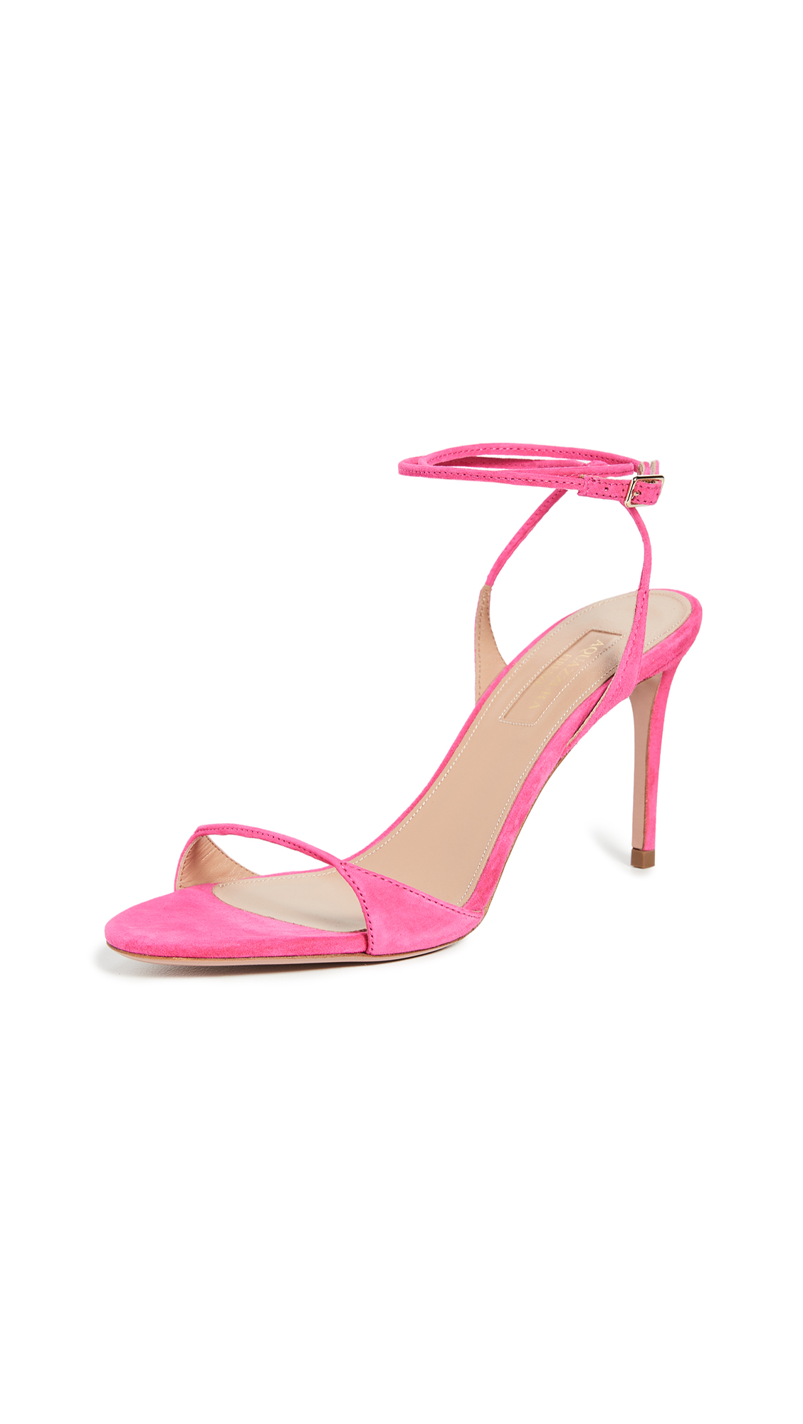 Buy Aquazzura Minute Sandals 85mm online, shop Aquazzura