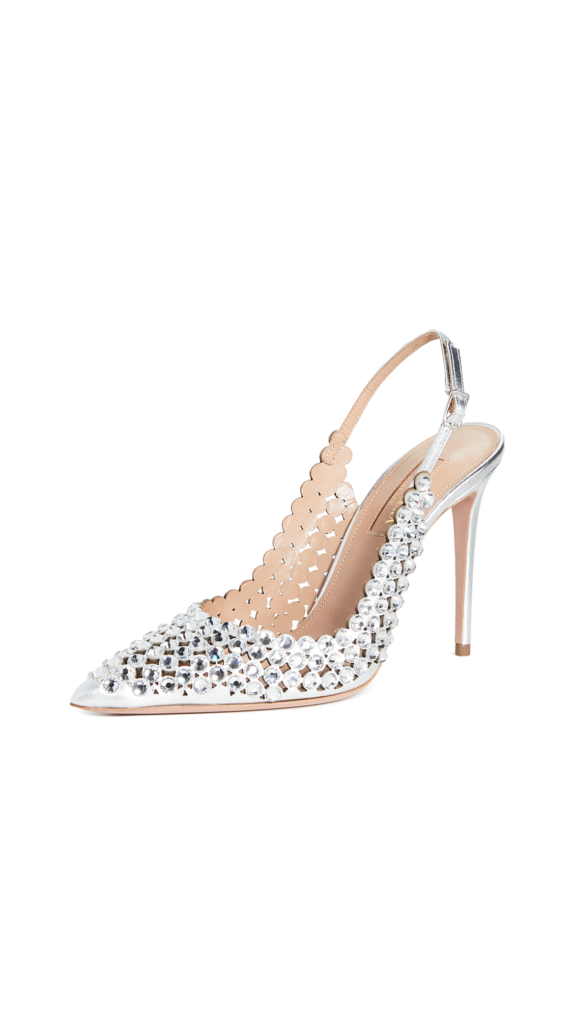 Buy Aquazzura 105mm Tequila Pumps online, shop Aquazzura