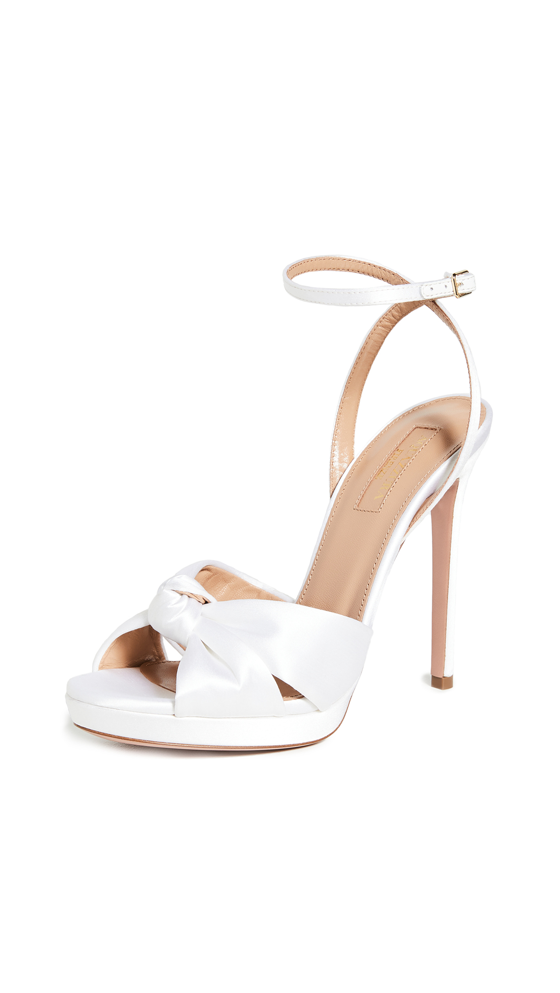 Buy Aquazzura 115mm Chance Sandals online, shop Aquazzura