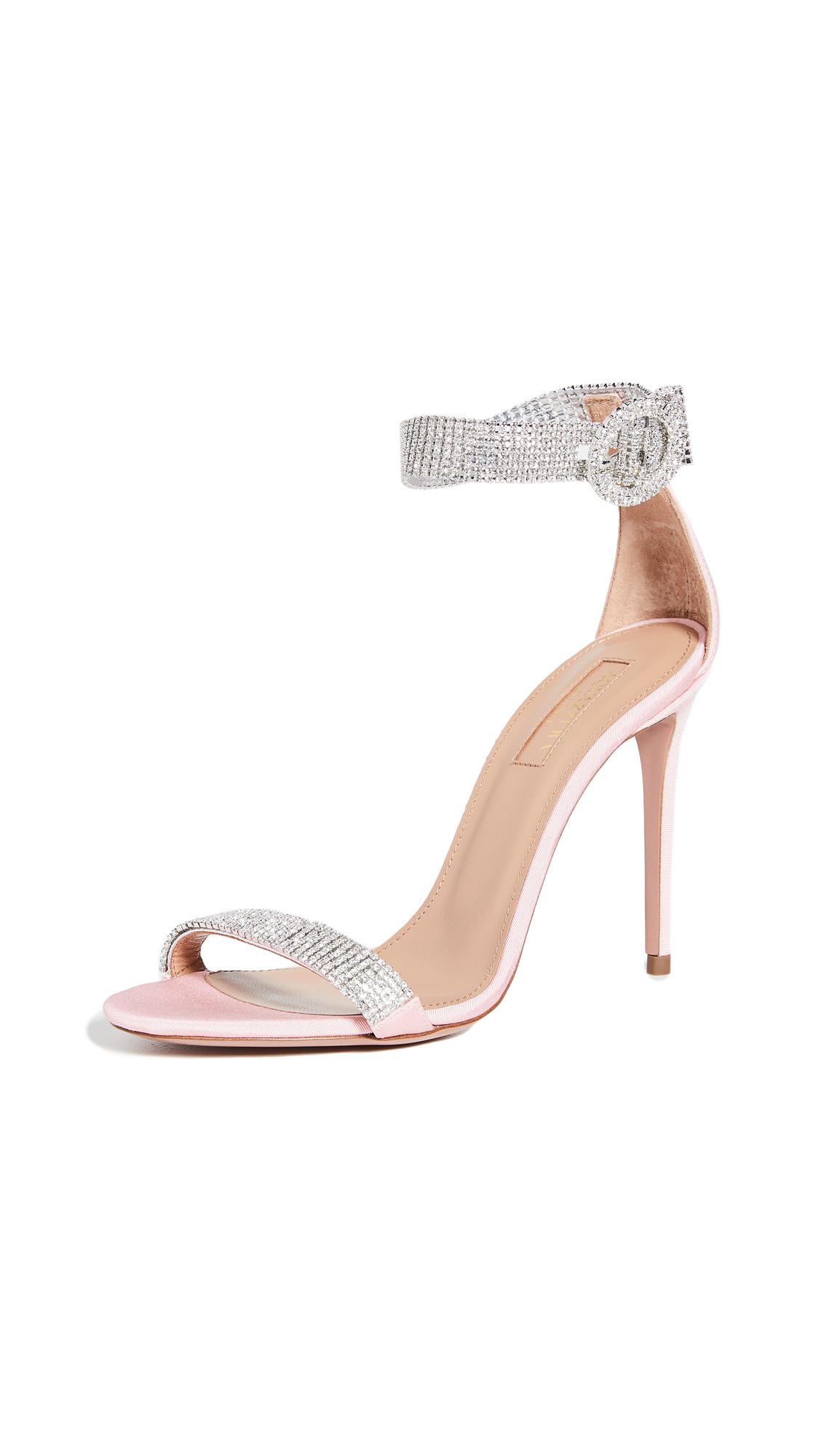 Buy Aquazzura 105mm Chain Reaction Sandals online, shop Aquazzura