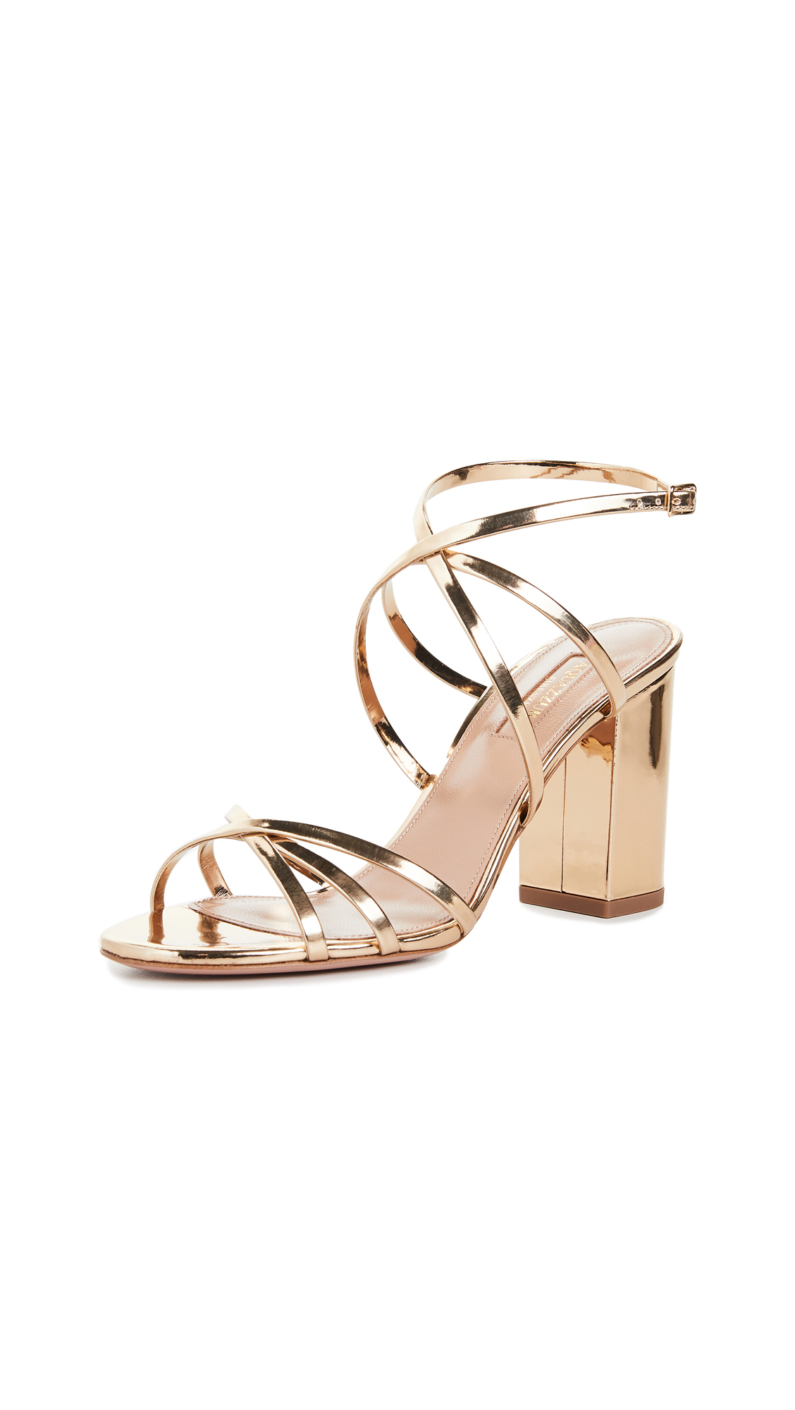 Buy Aquazzura 85mm Gin Sandals online, shop Aquazzura