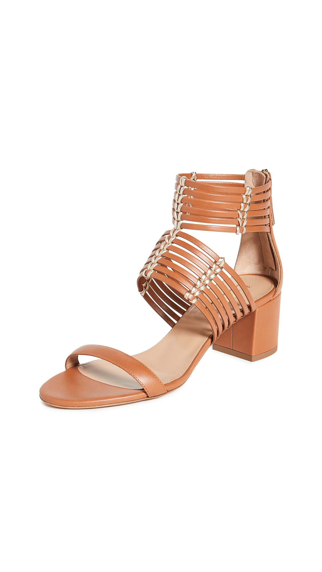 Buy Aquazzura 50mm Ravello Sandals online, shop Aquazzura
