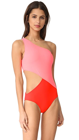 Araks Elmar One Piece - Fluoro/Poppy