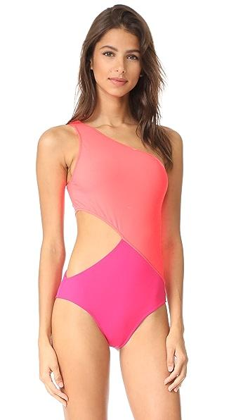 Araks Elmar One Piece Swimsuit - Fluoro/Peony