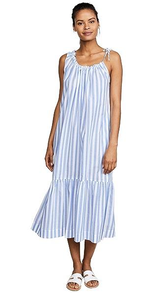 Araks Phoenix Stripe Dress In Bay Stripe