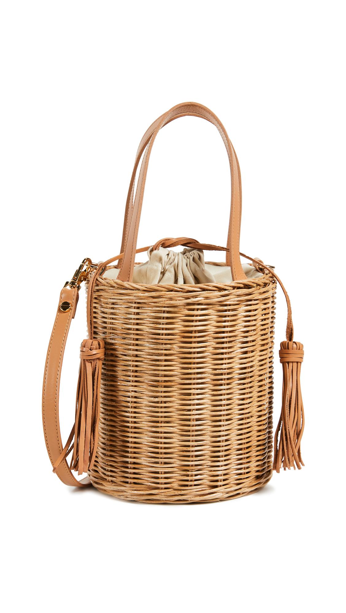 ARANAZ | ARANAZ Jean Bucket Bag | Goxip