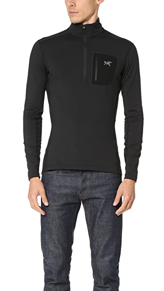 Arc'Teryx Rho LT Zip Neck Shirt