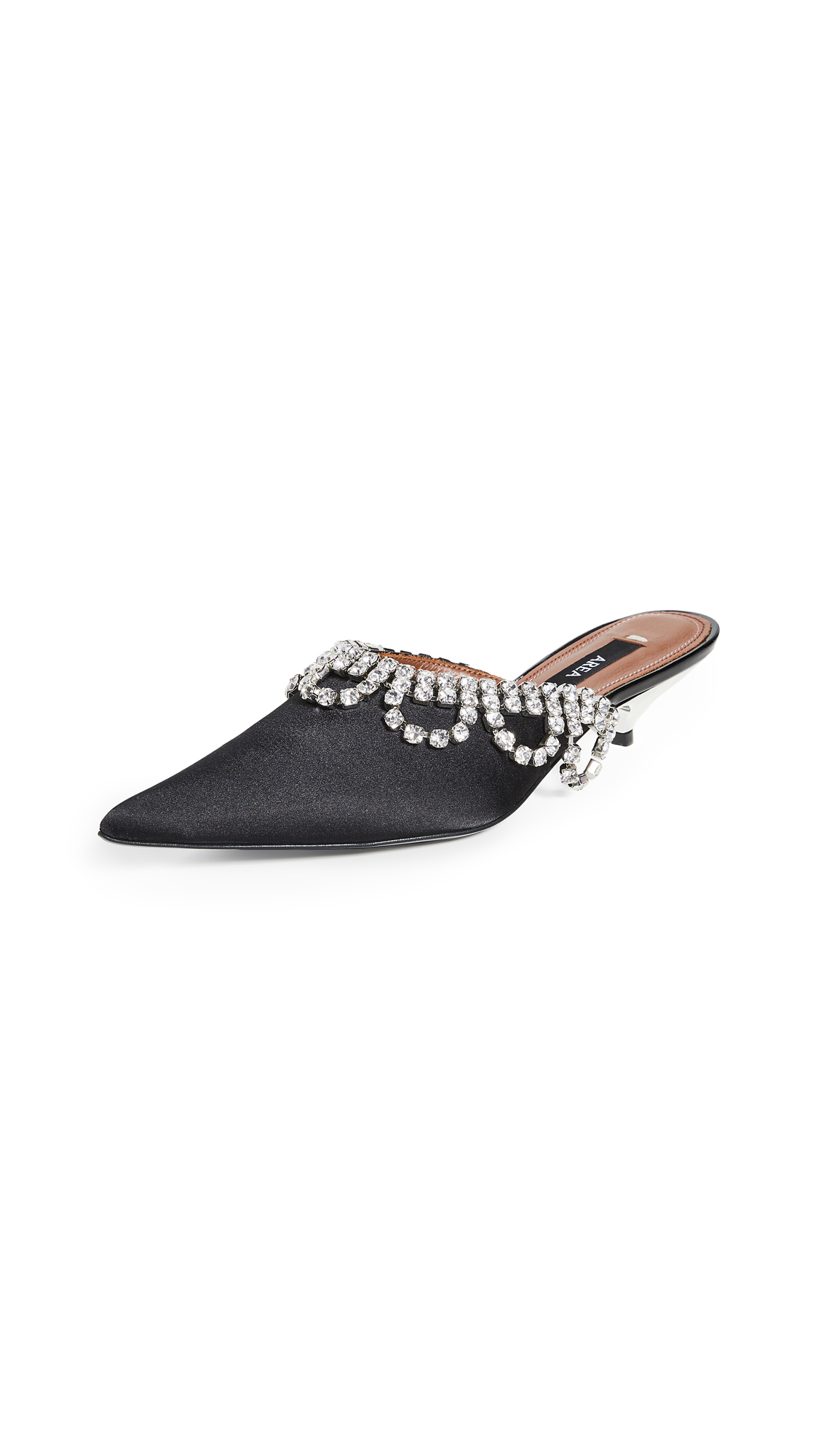 Buy Area Scalloped Crystal A Mules online, shop Area