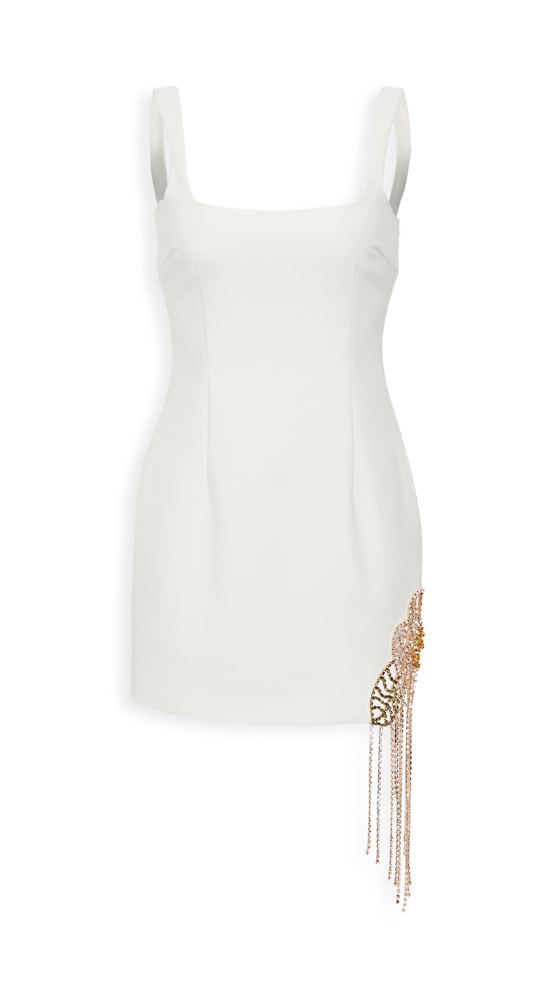 Area Crystal Flower Cutout Dress - 30% Off Sale