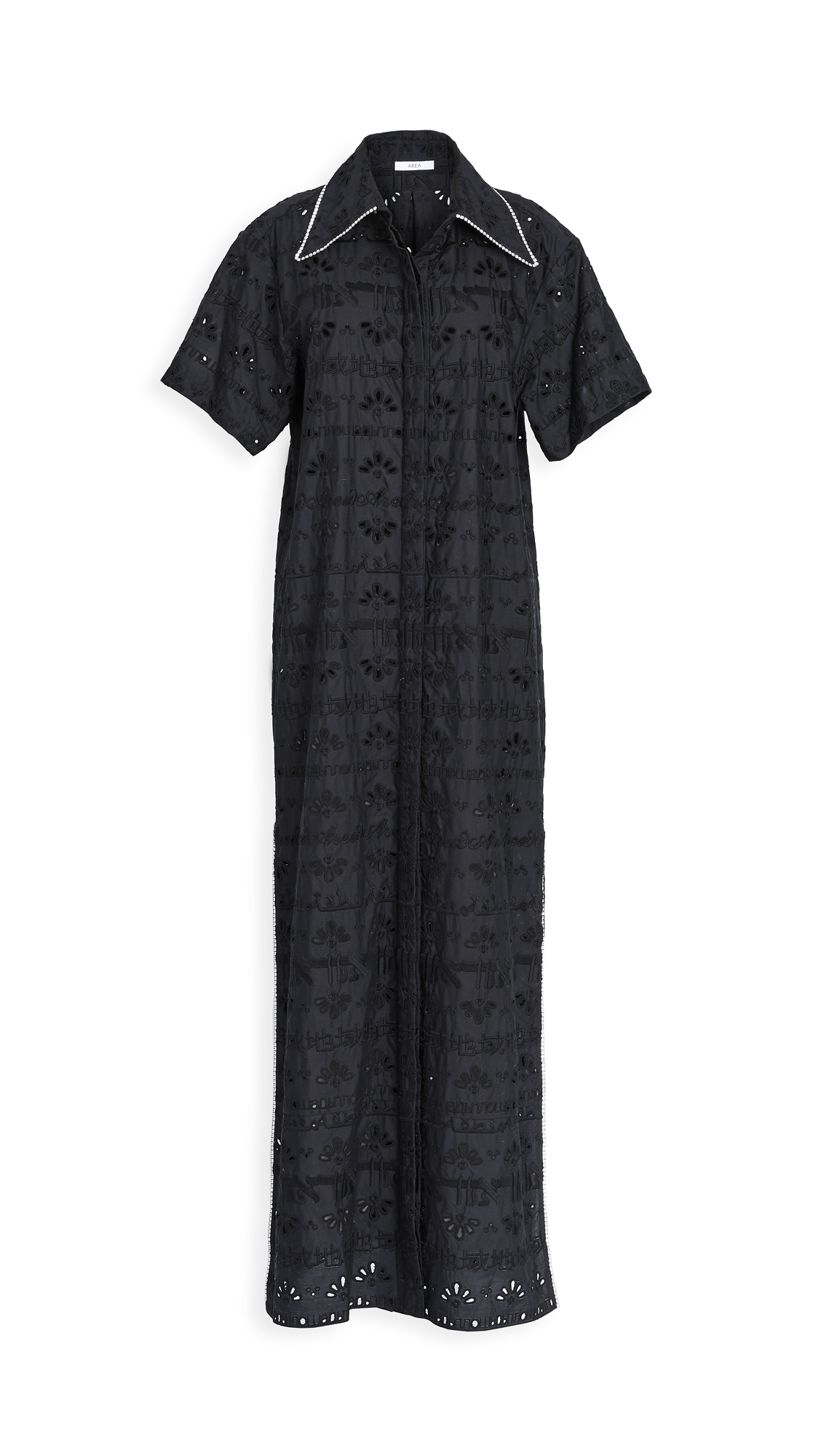 Area Crystal Trimmed Tunic Dress – 30% Off Sale