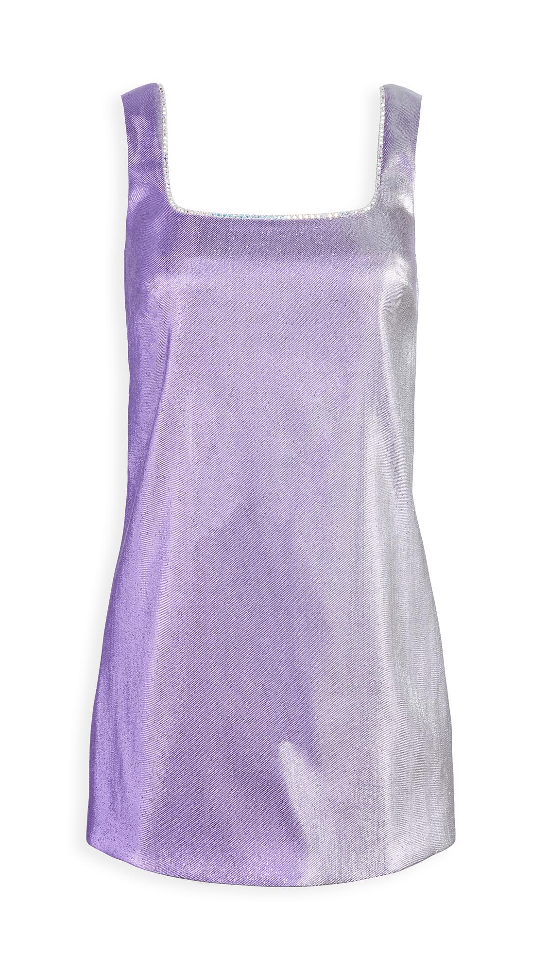 Area Crystal Choker Mini Dress - 50% Off Sale
