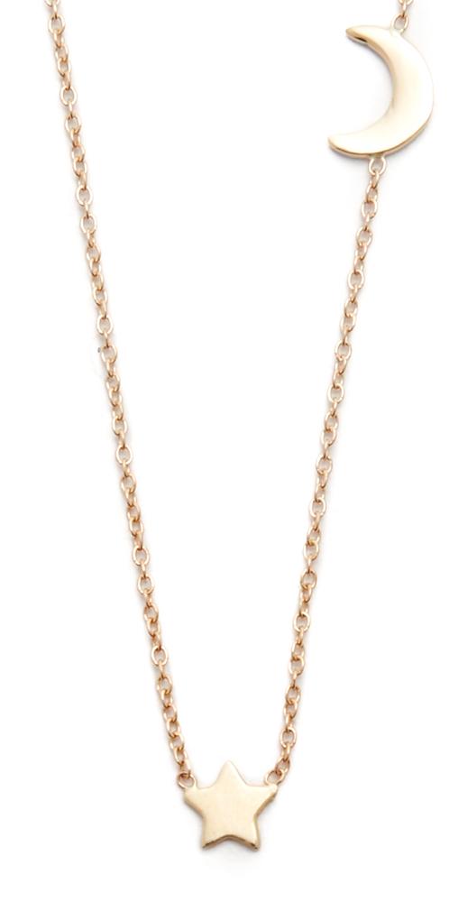 14k Gold Starry Night Necklace Ariel Gordon Jewelry
