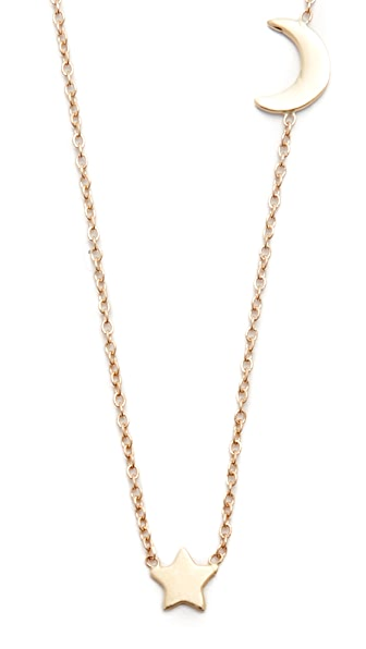 Ariel Gordon Jewelry 14k Gold Starry Night Necklace In Gold