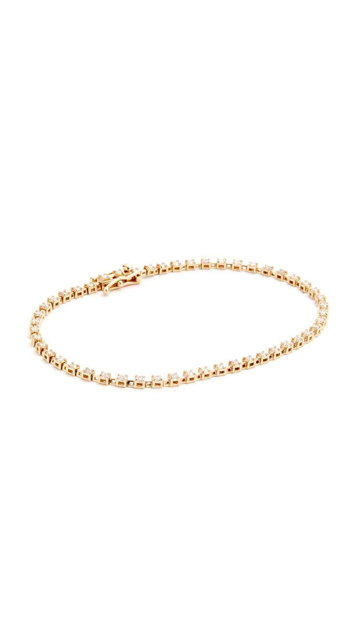 Ariel Gordon Jewelry 14k Gold Diamond Tennis Bracelet - Gold