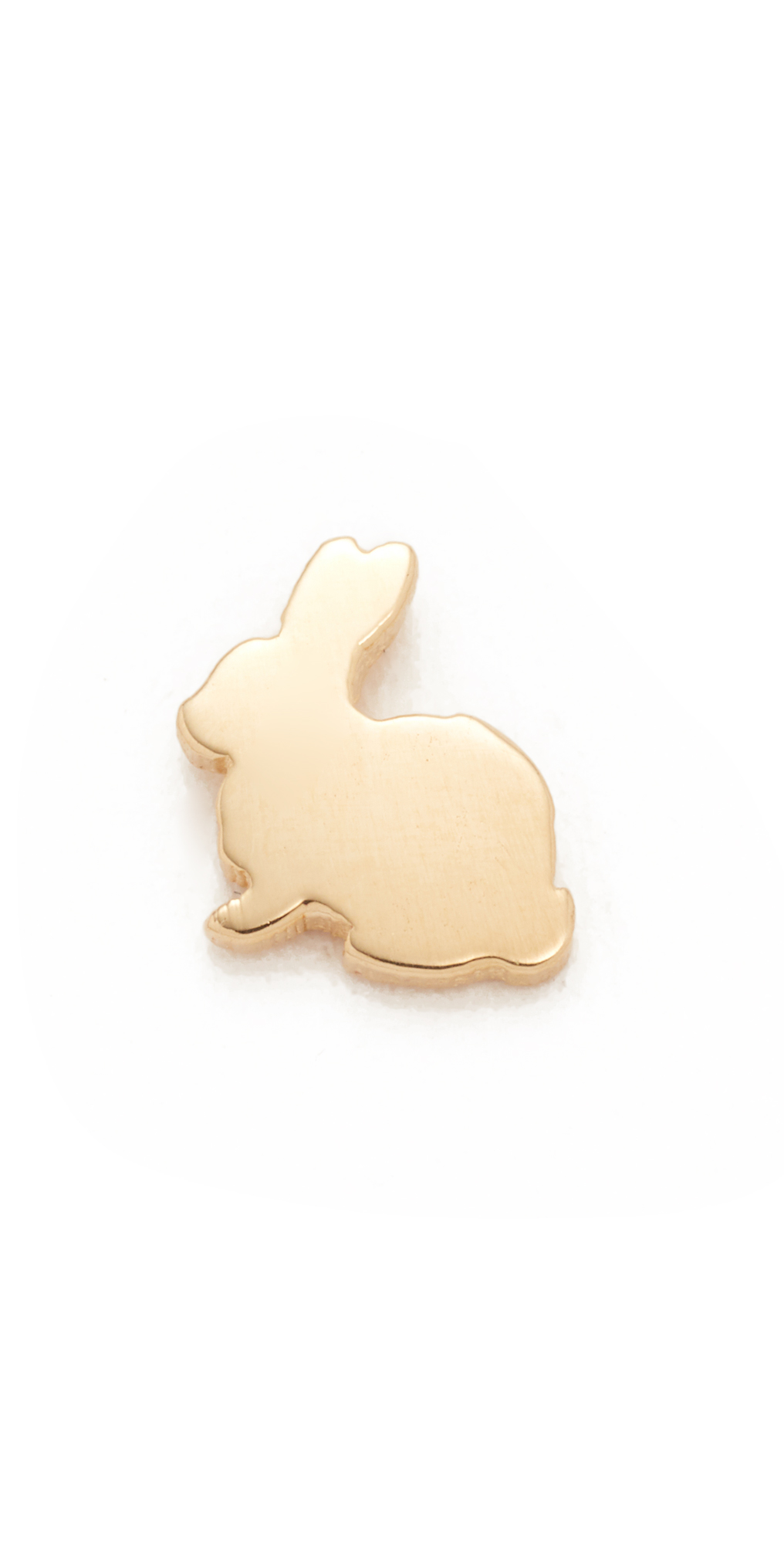 14k Gold Menagerie Bunny Stud Earring Ariel Gordon Jewelry