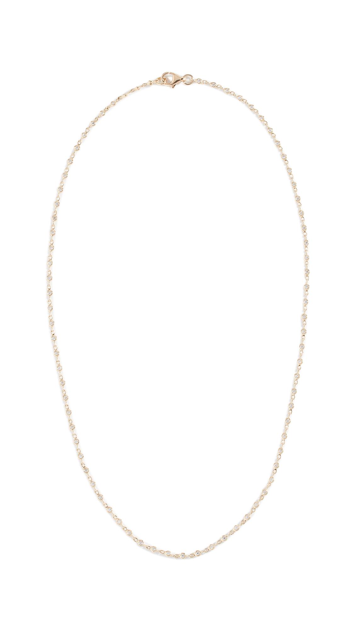 ARIEL GORDON JEWELRY 14K Diamond Ember Necklace in Yellow Gold