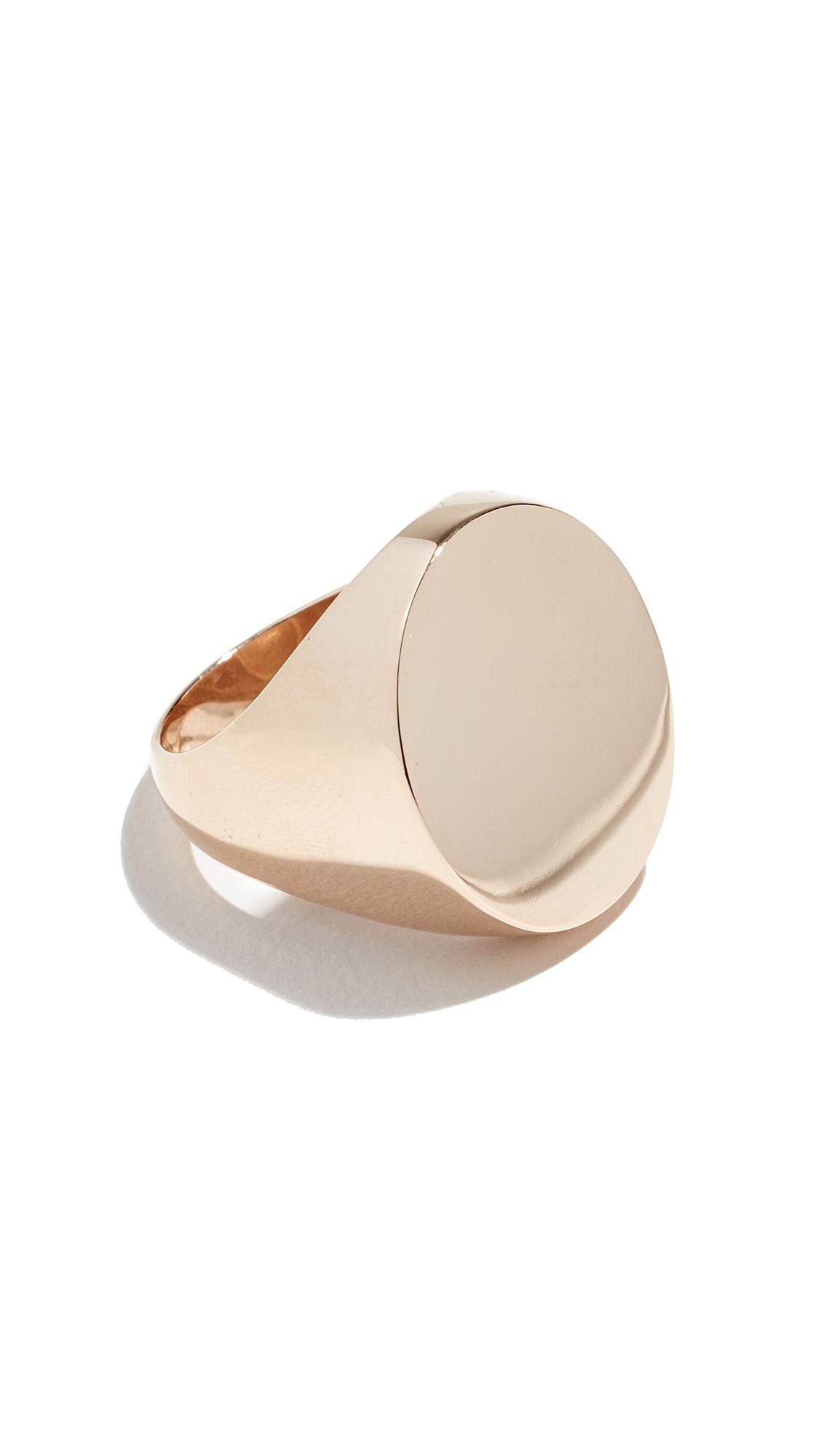 ARIEL GORDON JEWELRY 14K Royal Signet Ring in Yellow Gold