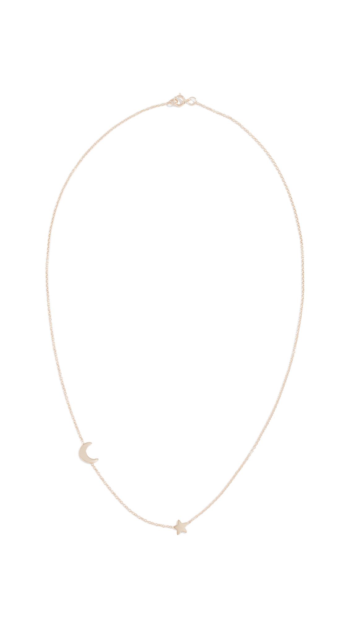 ARIEL GORDON JEWELRY 14K Starry Night Necklace in Yellow Gold