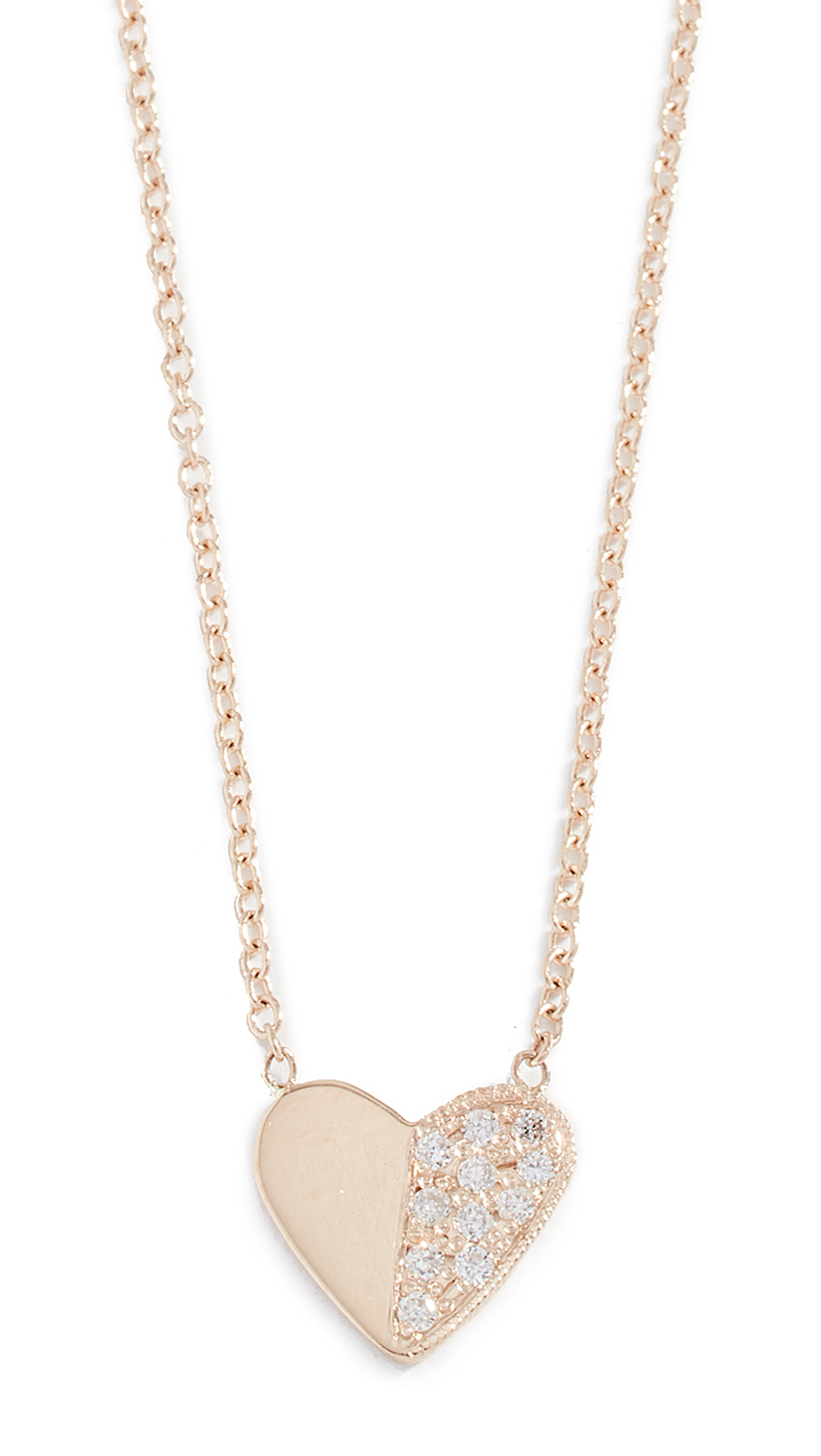 ARIEL GORDON JEWELRY 14K Close To My Heart Necklace in Yellow Gold