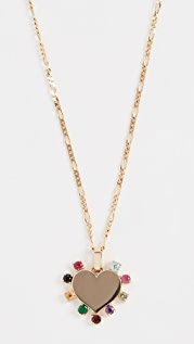 Ariel Gordon Jewelry 14k Candy 心形项链