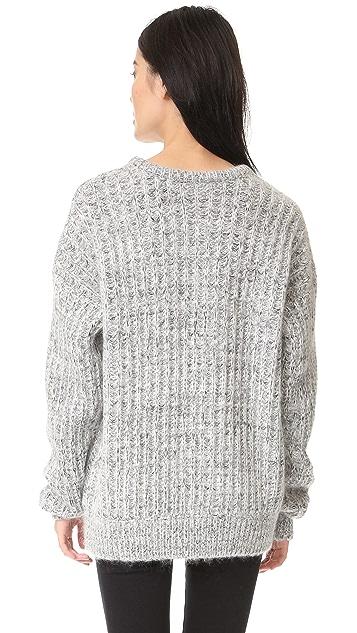 Aries Super Big Crew Sweater