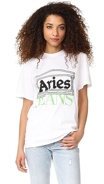 Aries Aries Logo Tee