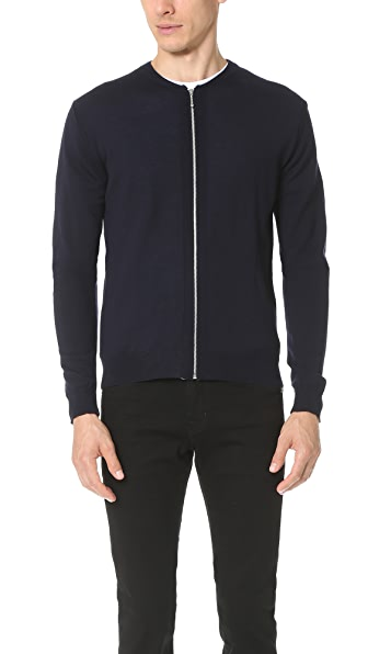 Armoire Officielle Mikael Knit Zip Cardigan